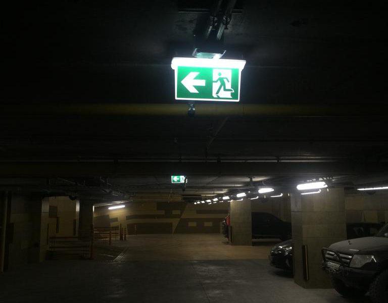 چراغ روشنایی اضطراری ای ای سی