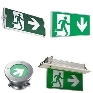 محصولات روشنایی ایمنی-چراغ اضطراری-اگزیت ساین