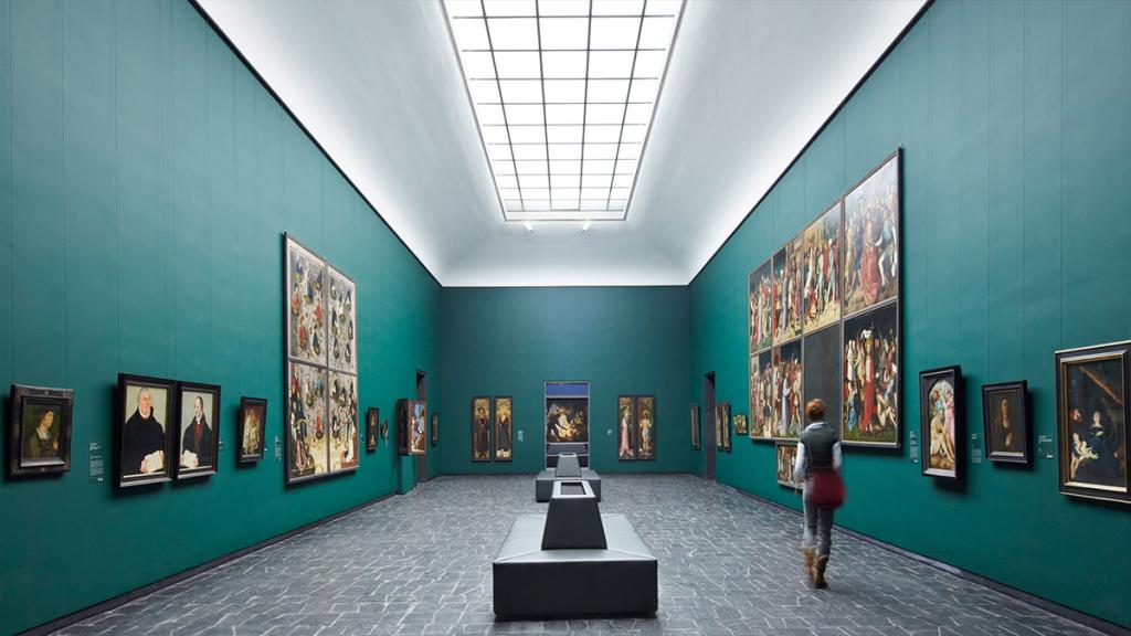 طراحی روشنایی موزه