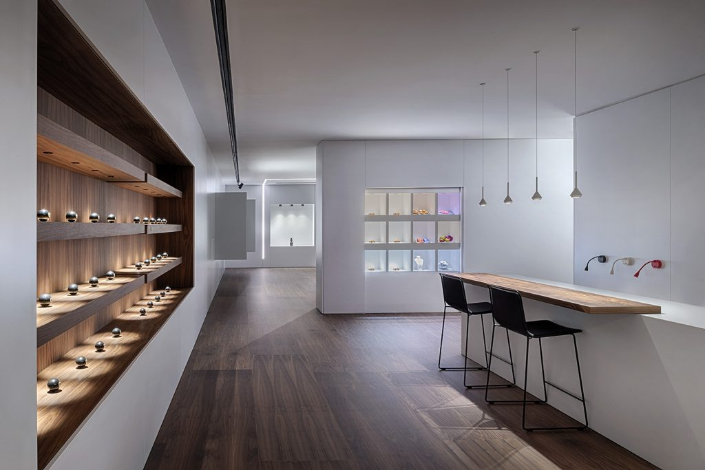 طراحی روشنایی مرکز خرید