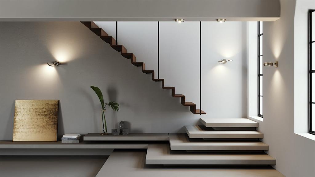 طراحی روشنایی داخلی سانوتک