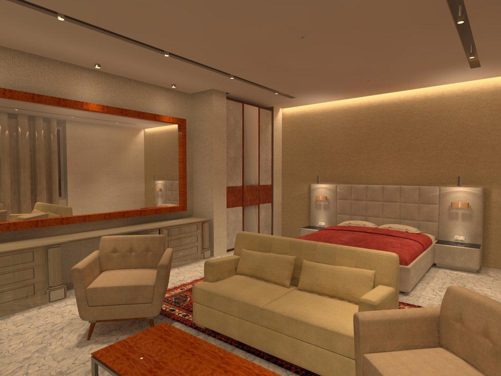 طراحی روشنایی داخلی در پروژه مسکونی