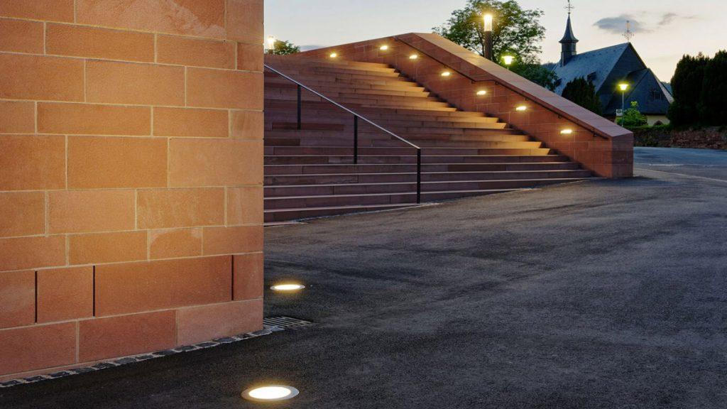 چراغ های دفنی و کاربرد آن در نورپردازی